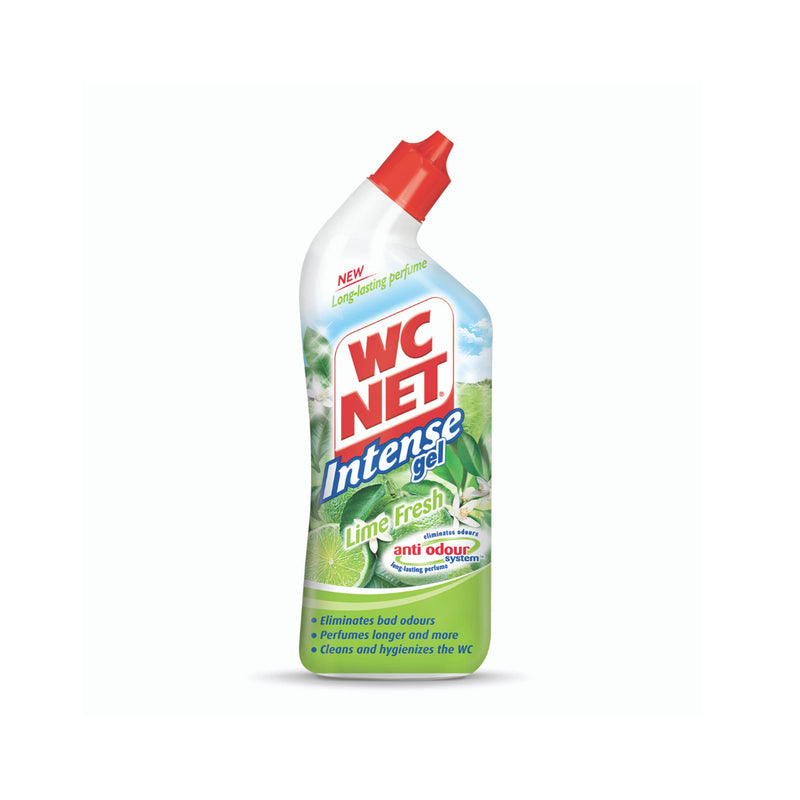 WC NET Toilet Cleaner Intense Gel Lime 750ml