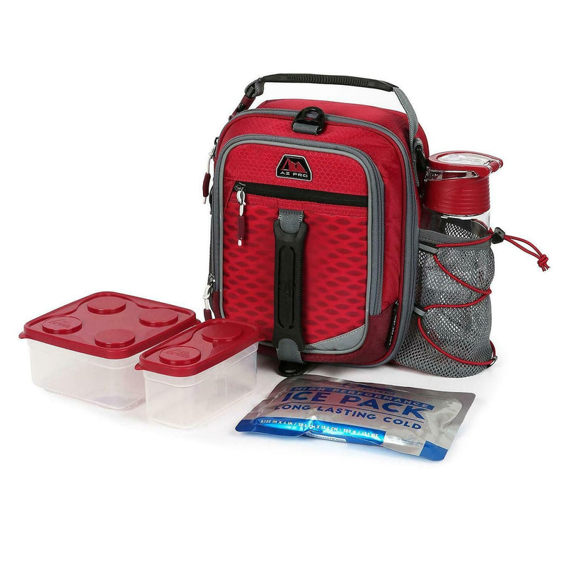Arctic Zone Lunch Box-Red