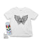 Mlabbas Butterfly Kids Coloring T-Shirt