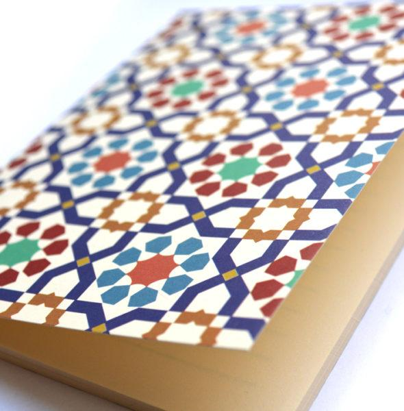 Fairuzy Morocan Tradition Oriental pattern notebook