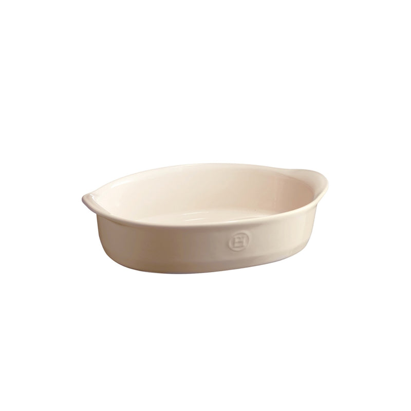 Emile Henry Small Oval Oven Dish (Clay)