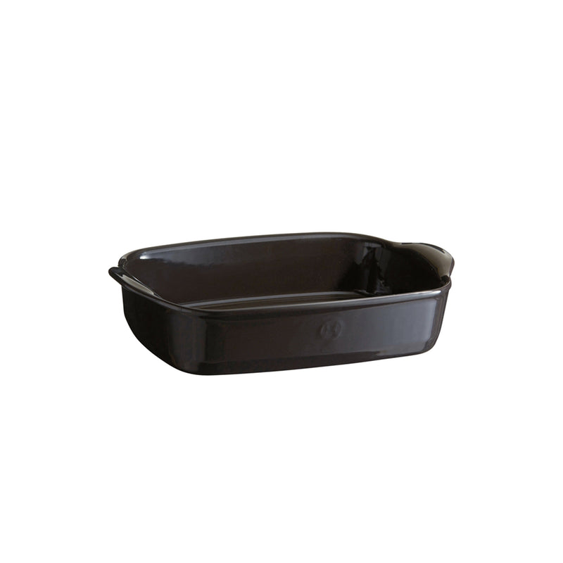 Emile Henry Small Rectangular Oven Dish (Charcoal)