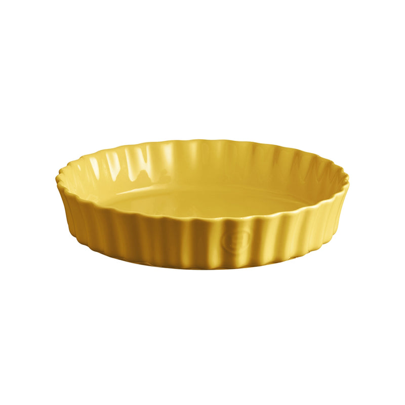 Emile Henry Deep Flan Dish - 28 Cm (Provence Yellow)