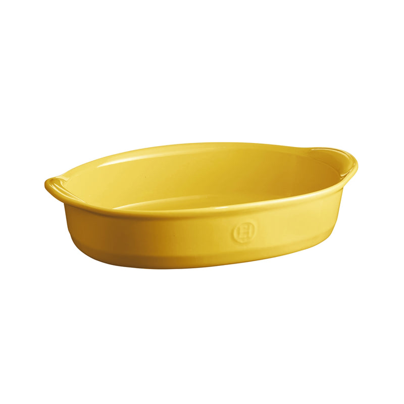 Emile Henry Oval Oven Dish (Provence Yellow)