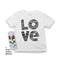 Mlabbas Love Kids Coloring T-Shirt