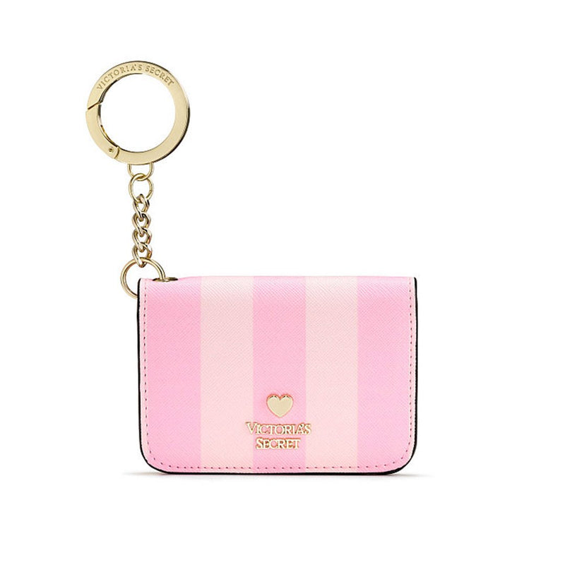 Victoria's Secret - Pink Stripe Foldable Card Holder