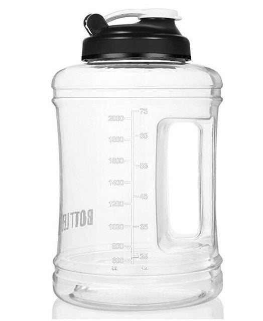bottled joy gym gallon water bottle bidon bpa free dringking bottle   2500ml