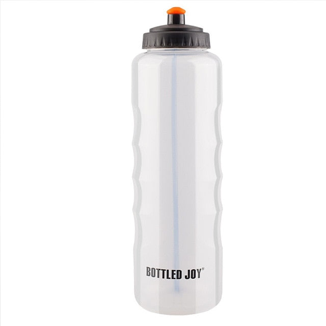bottled joy gym water bottle bidon bpa free dringking bottle garrafa with One-hand design my Plastic bottle 1500ml