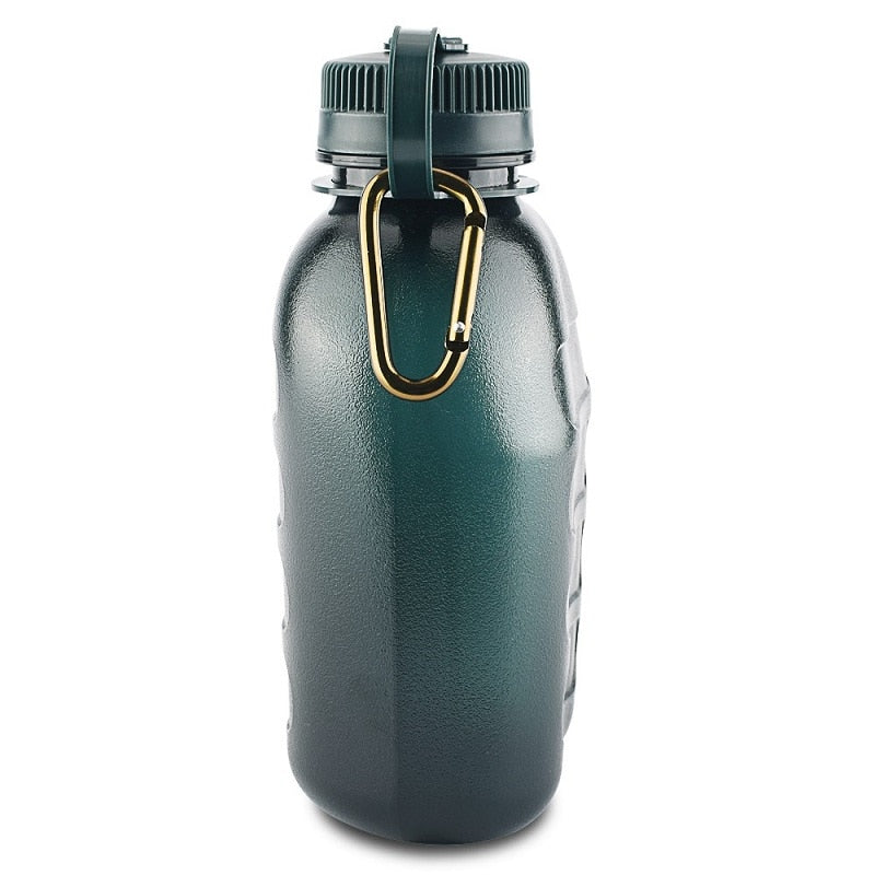 bottled joy 1L water bottle bidon Military Canteen Water Bottle for Outdoor Recreation drinking bottle 1000ml
