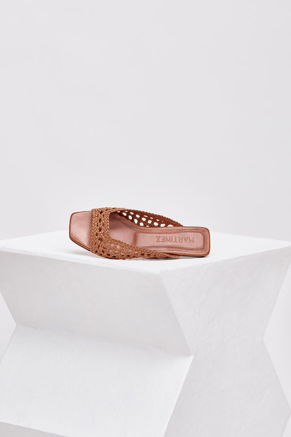 MELOCOTON - Tierra Woven Leather Flats