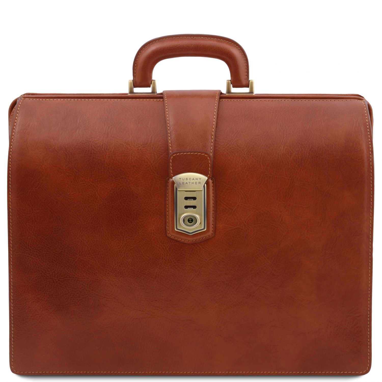 Canova - Leather Doctor bag briefcase 3 compartments (TL141826) - Doctor bags | DILUSSOBAGS