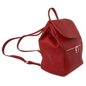 TL Bag - Soft leather backpack for women (TL141697) - Leather backpacks for women | DILUSSOBAGS