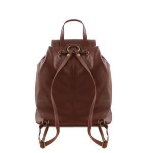 Seoul - Leather backpack - Large size (TL141507) - Leather Backpacks | DILUSSOBAGS