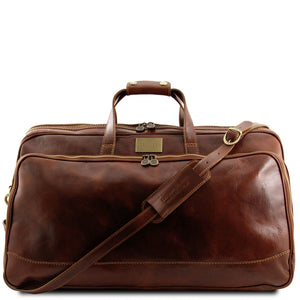 Bora Bora - Trolley leather bag - Large size - (TL3067) - Leather Wheeled luggage | DILUSSOBAGS