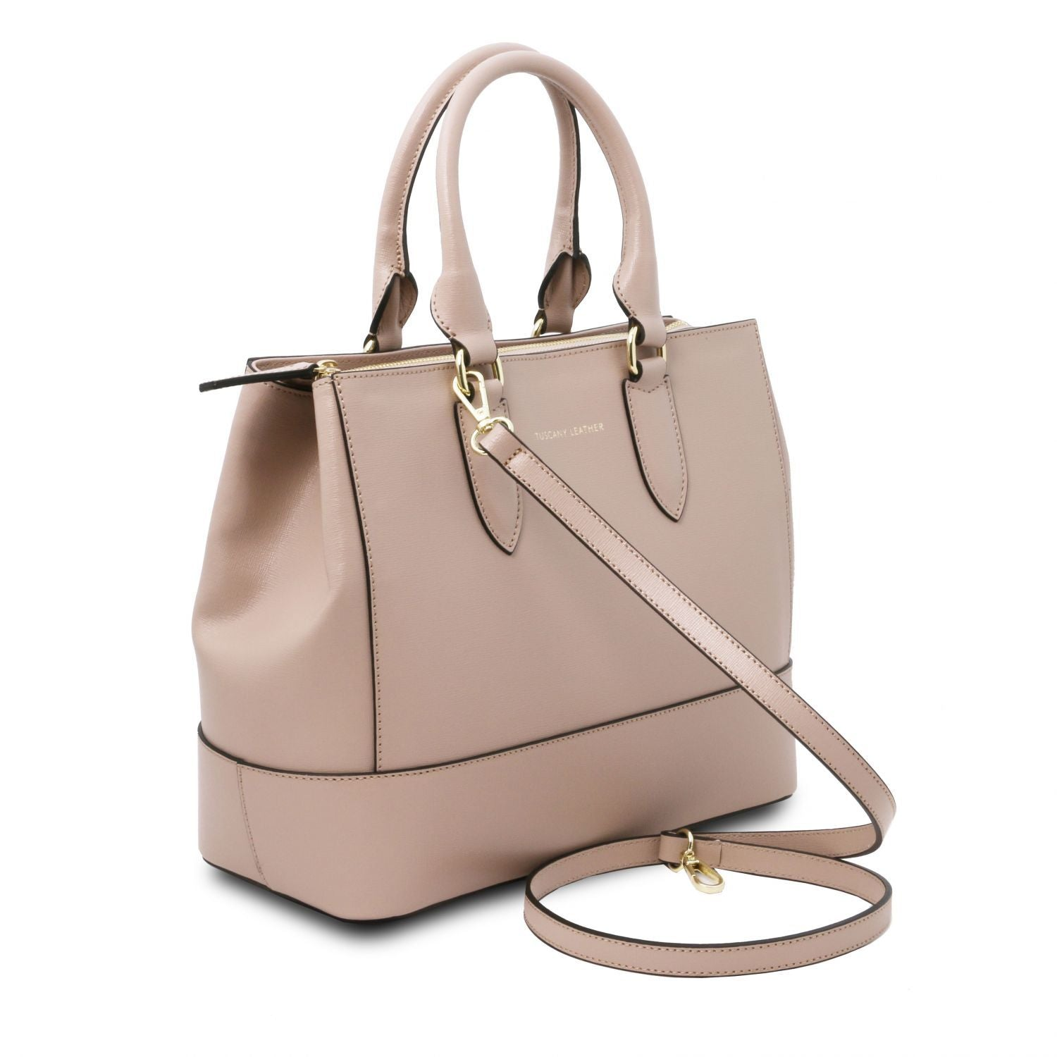 TL Bag - Saffiano leather handbag (TL141638) - Leather handbags | DILUSSOBAGS