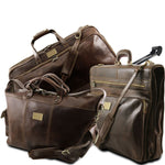 Luxurious - Travel set (TL141078) - Leather travel sets | DILUSSOBAGS