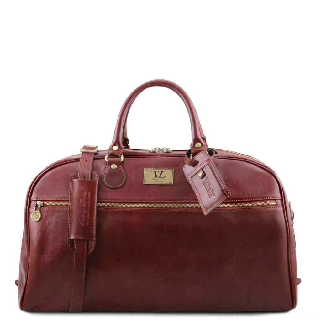 TL Voyager - Leather travel bag - Large size (TL141422) - Leather Travel bags | DILUSSOBAGS