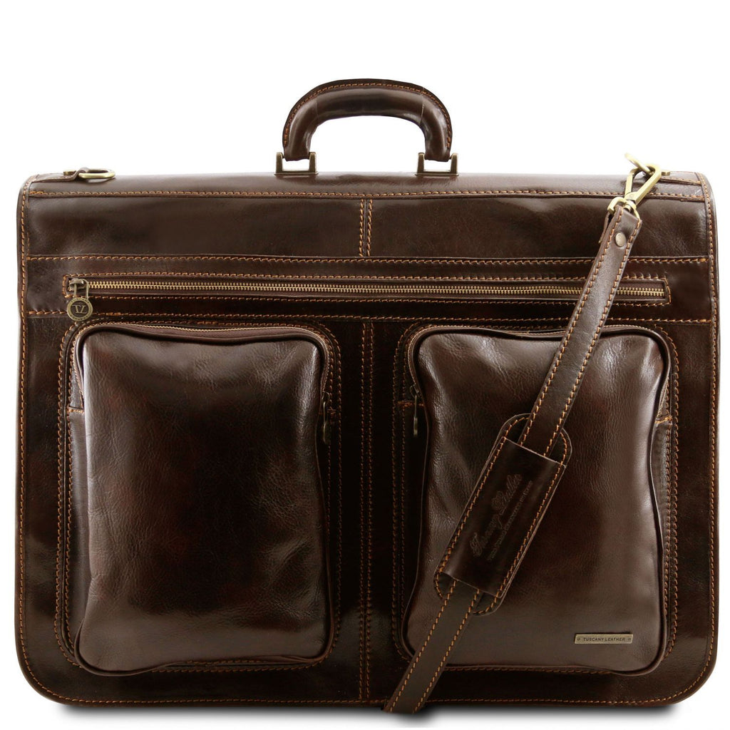 Tahiti - Garment leather bag (TL3030) - Leather garment bags | DILUSSOBAGS