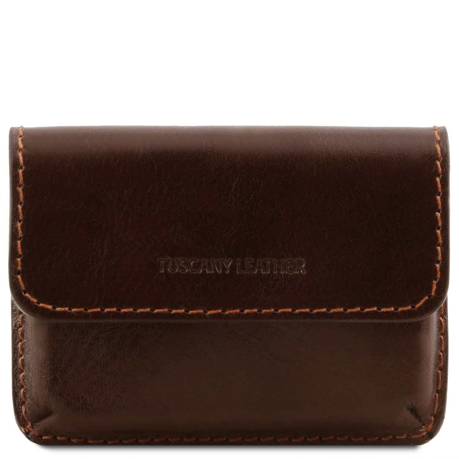 Exclusive leather business cards holder (TL141378) - Men leather accessories | DILUSSOBAGS
