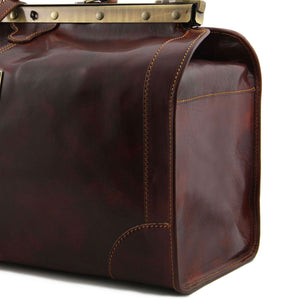 Madrid - Gladstone Leather Bag - Large size (TL1022) - Leather Travel bags | DILUSSOBAGS
