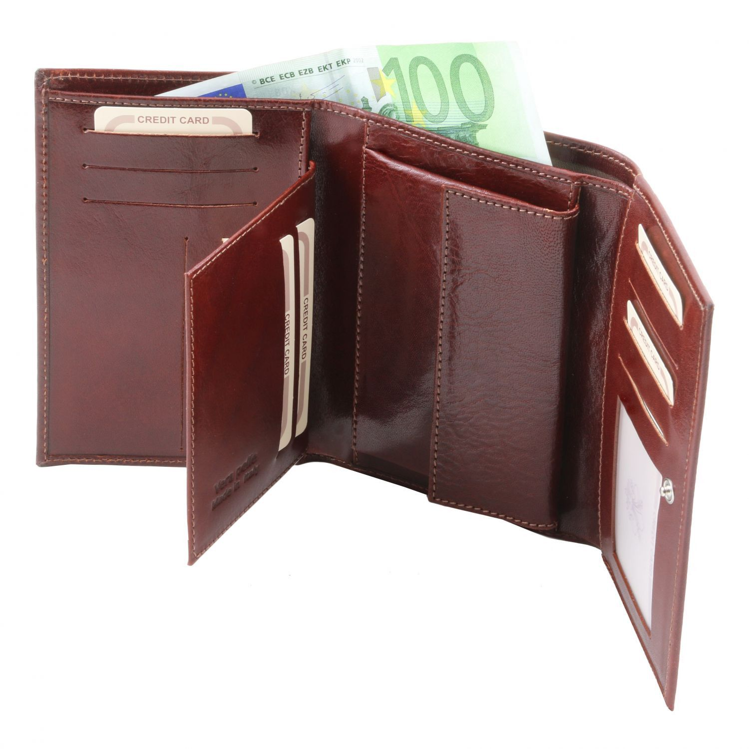Exclusive leather wallet for women (TL141314) - Leather wallets for women | DILUSSOBAGS
