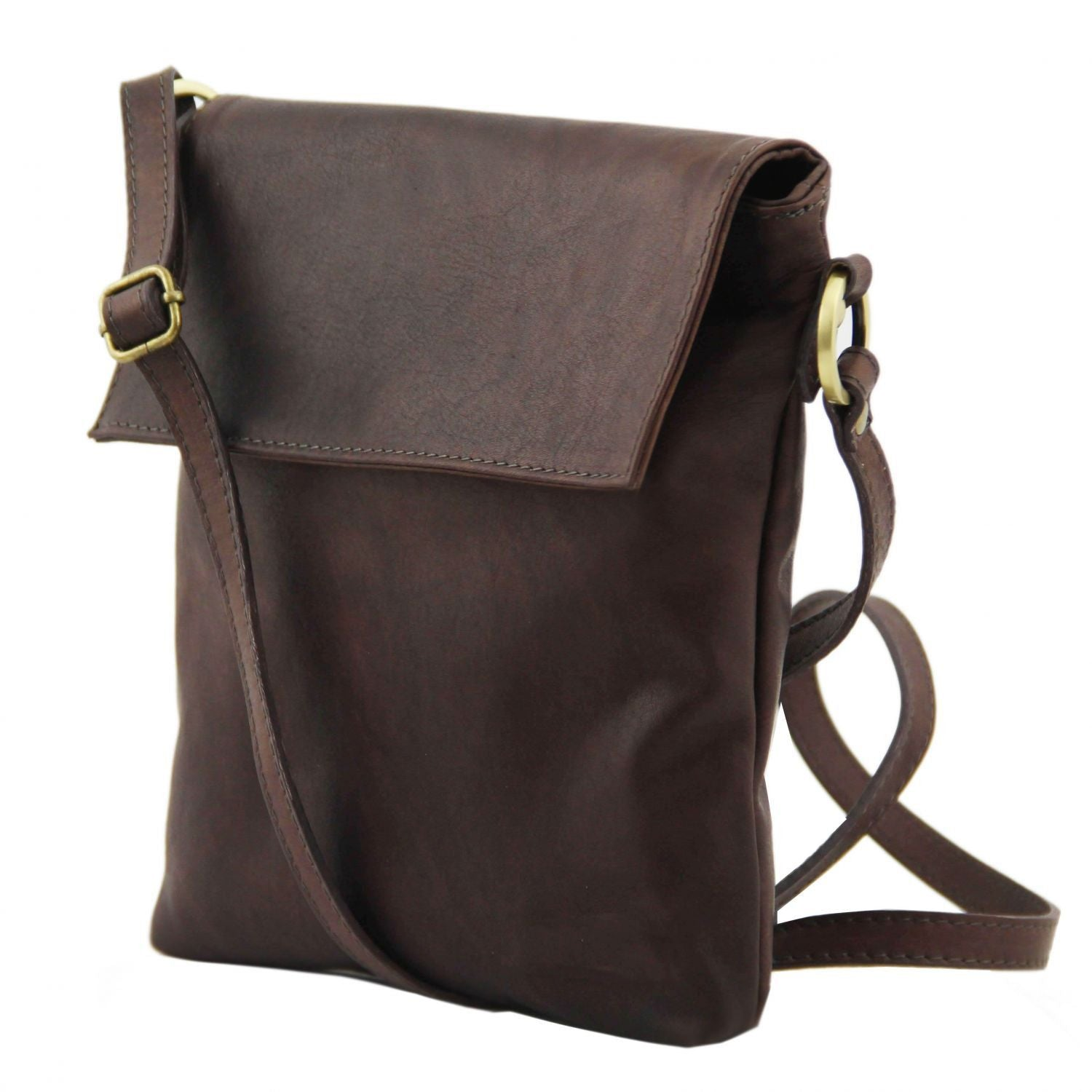Morgan - Leather shoulder bag (TL141511) - Leather bags for men | DILUSSOBAGS