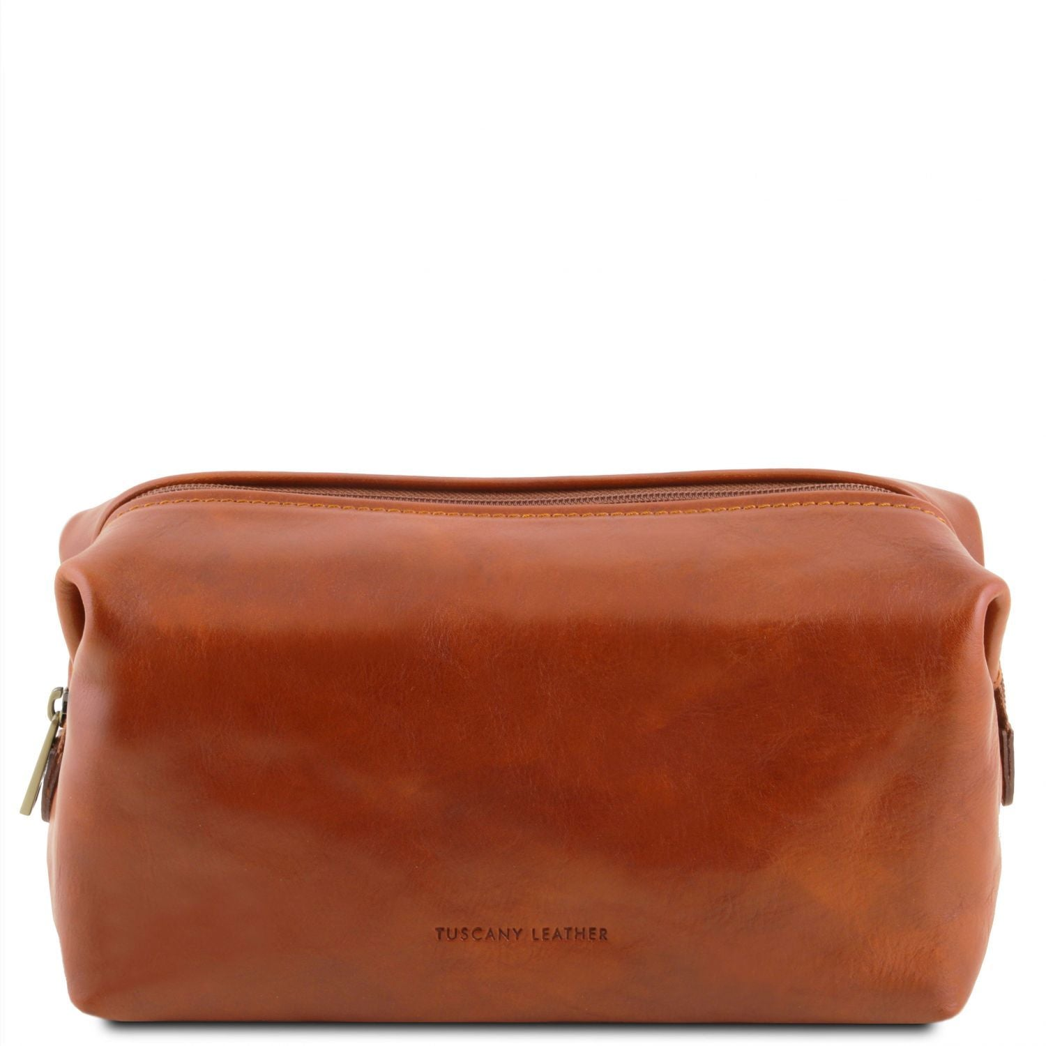 Smarty - Leather toilet bag - Small size (TL141220) - Travel leather accessories | DILUSSOBAGS