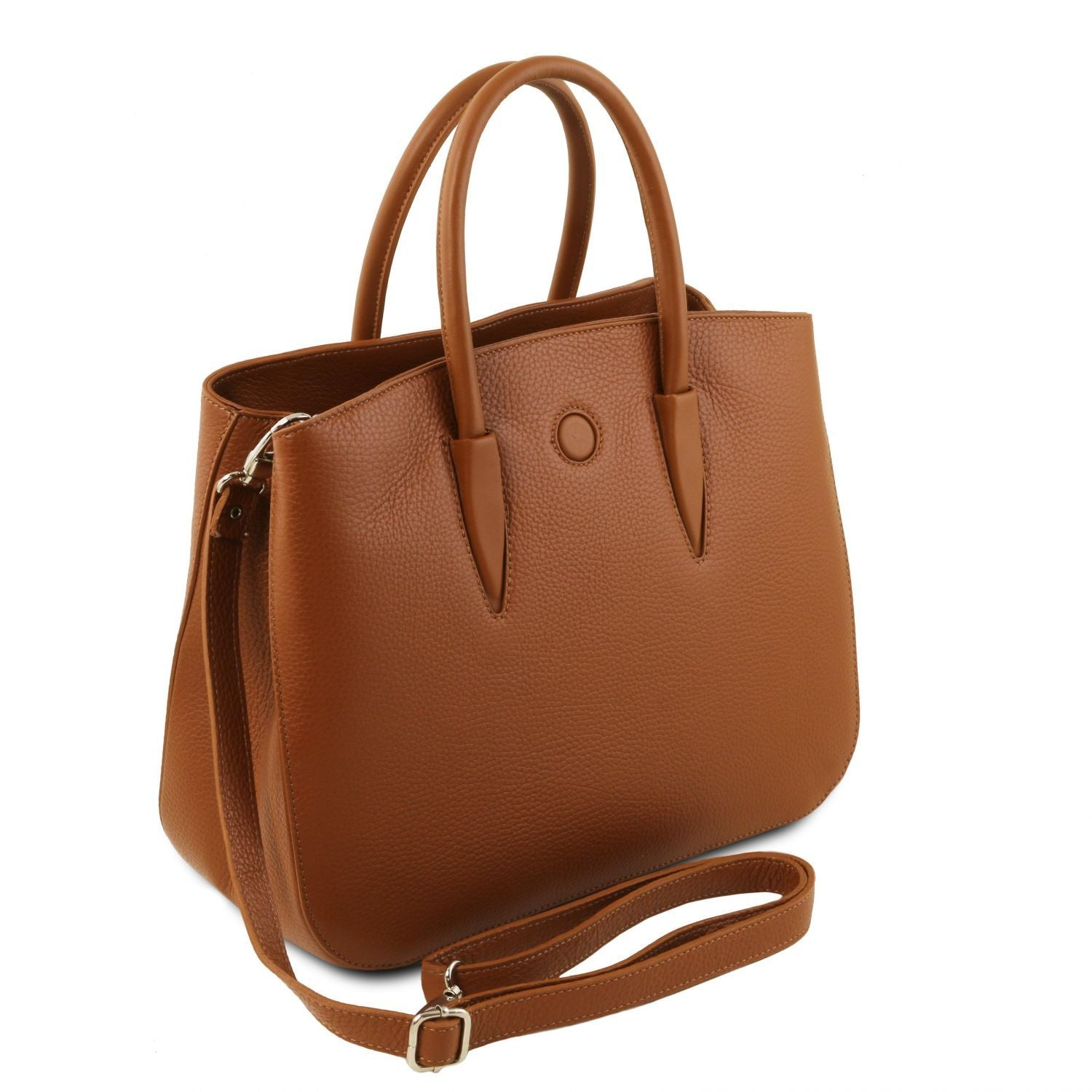 Camelia - Leather handbag (TL141728) - Leather handbags | DILUSSOBAGS