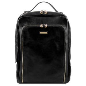 "Bangkok - Leather 13,3"" laptop backpack (TL141793) - Leather Backpacks 