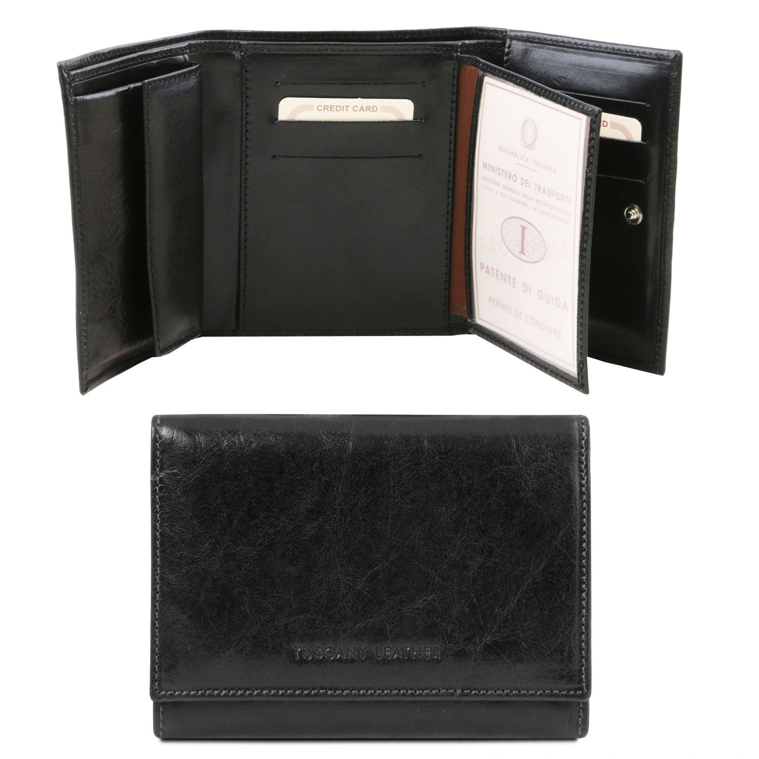 Exclusive leather wallet for women (TL140790) - Leather wallets for women | DILUSSOBAGS