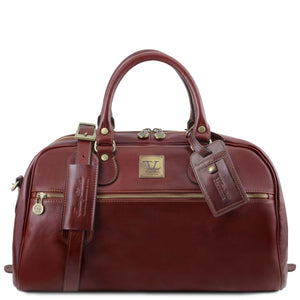 TL Voyager - Travel leather bag- Small size (TL141405) - Leather Travel bags | DILUSSOBAGS