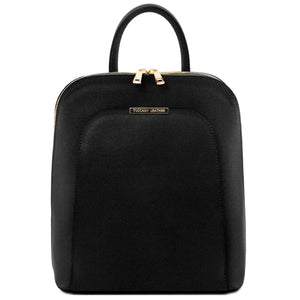 TL Bag - Saffiano leather backpack for women (TL141631) - Leather backpack | DILUSSOBAGS