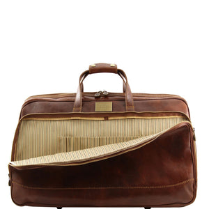 Bora Bora - Trolley leather bag - Small size - (TL3065) - Leather Wheeled luggage | DILUSSOBAGS