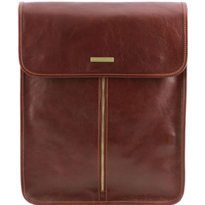 Exclusive leather shirt case (TL141307) - Travel leather accessories | DILUSSOBAGS
