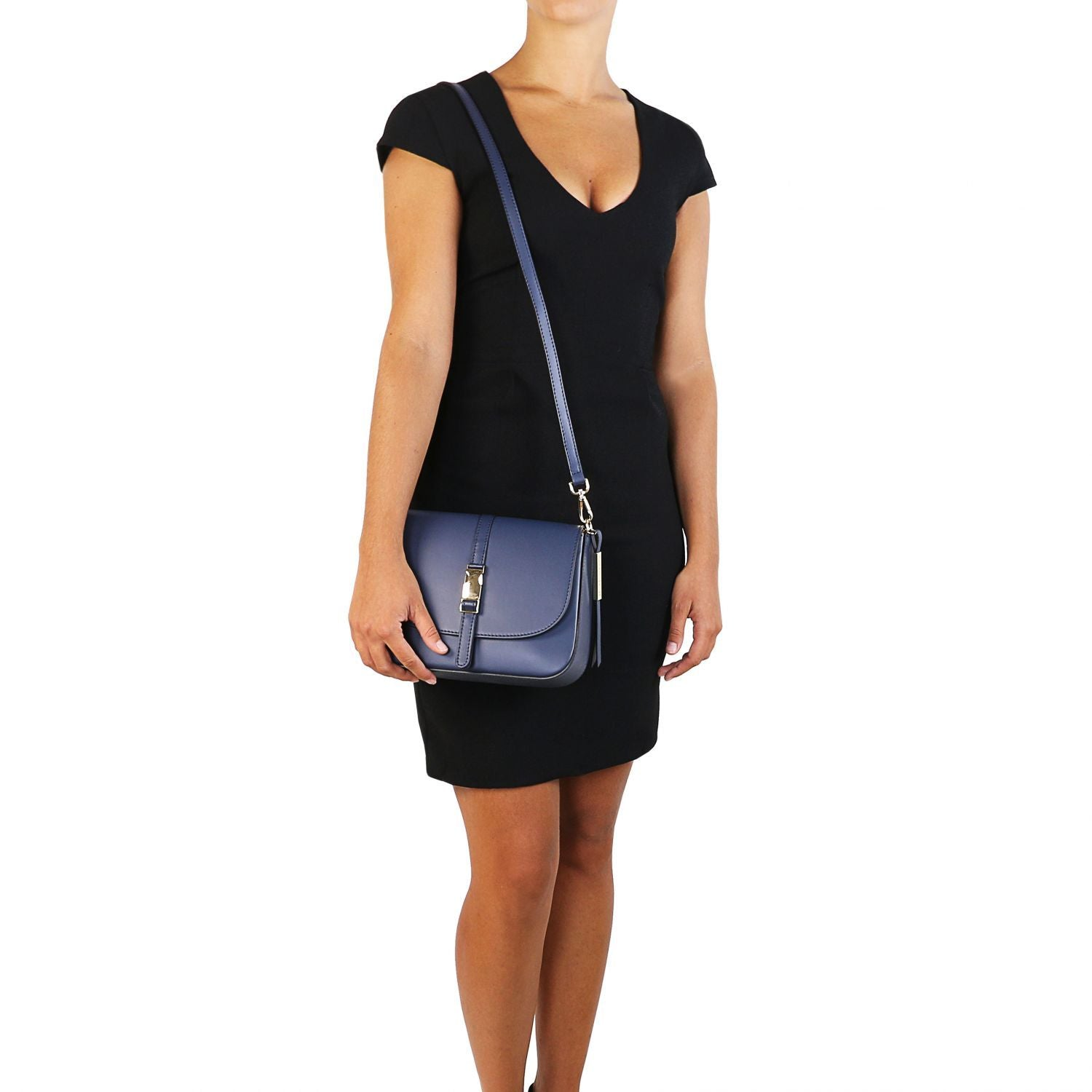 Nausica - Leather shoulder bag (TL141598) - Leather shoulder bags | DILUSSOBAGS