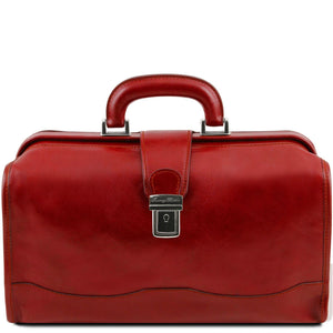 Raffaello - Doctor leather bag (TL141852) - Doctor bags | DILUSSOBAGS