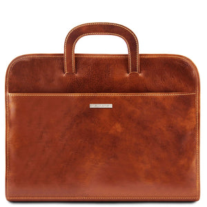 Sorrento - Document Leather briefcase (TL141022) - Leather Document cases | DILUSSOBAGS