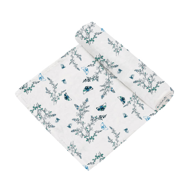 2 Layer Muslin Blanket - Garden Dreams / Doggies- come in a  2 Pack