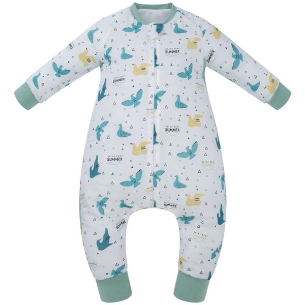 Sleeping Suit - Summer Birds 2.5 TOG