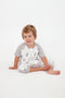 Sleeping Suit/ Short sleeve - Sleepy Sloth  0.6 TOG