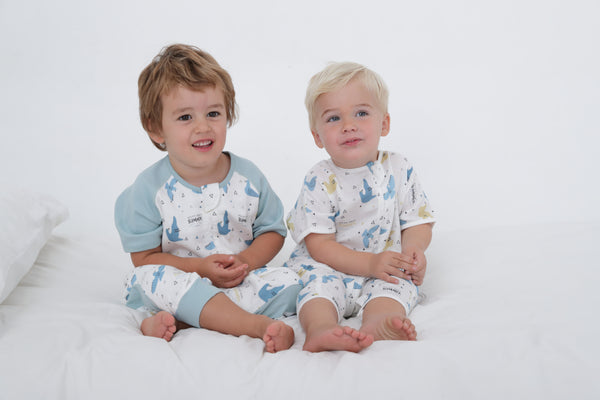 Sleeping Suit/ Short sleeve - Summer Birds 0.23 TOG