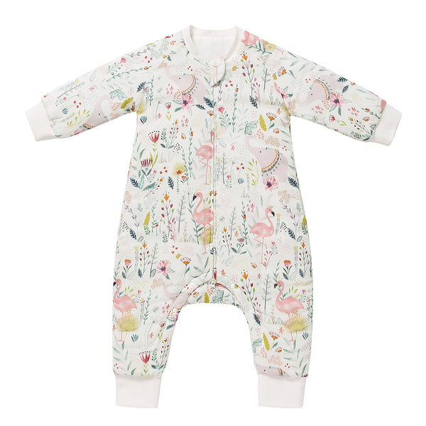 Cozy Sleeping Suit - Flamingo Pattern