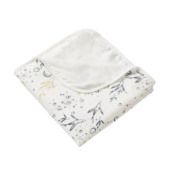 4 Layer Muslin Blanket - Flying Fish