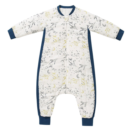 Cozy Sleeping Suit - Flying Fish Pattern