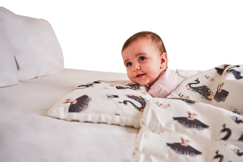 Baby Pillows-Swan