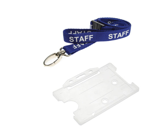 Staff Lanyard and Holder