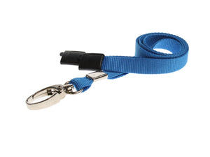 Blue Lanyard with Lobster Clip