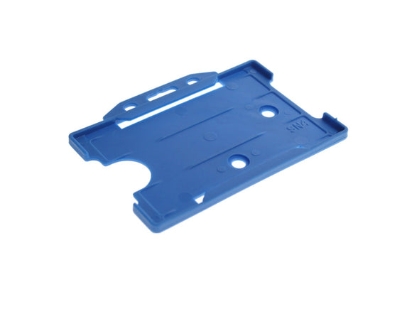Blue Single Sided Biodegradable ID Card Holder