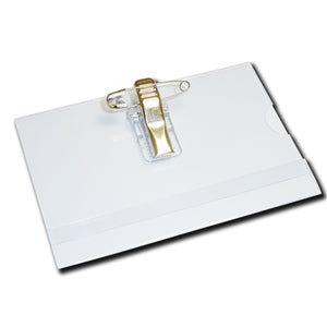 Conference ID Card Holder with Clip