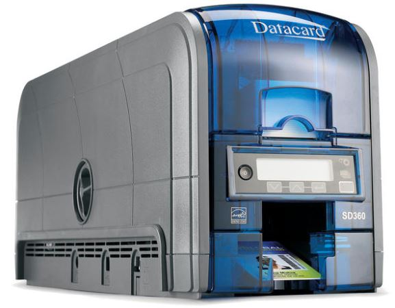 Datacard SD360 ID Card Printer (Dual-Sided)